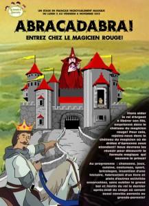 affiche abracadabra stage toussaint
